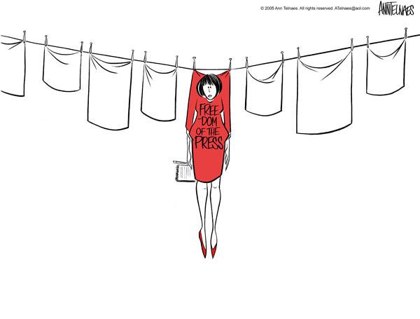 Ann Telnaes  Ann Telnaes' Editorial Cartoons 2005-07-06 line
