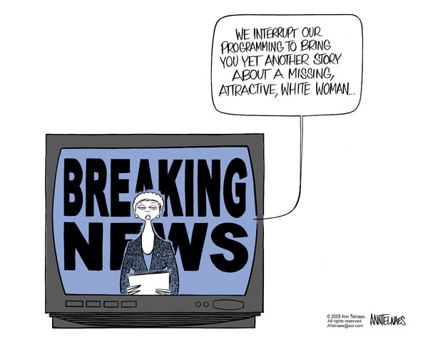 Ann Telnaes  Ann Telnaes' Editorial Cartoons 2005-06-05 media coverage