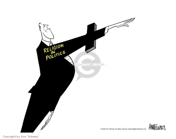 Ann Telnaes  Ann Telnaes' Editorial Cartoons 2005-05-14 government