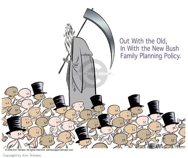 Ann Telnaes  Ann Telnaes' Editorial Cartoons 2002-12-28 New Year