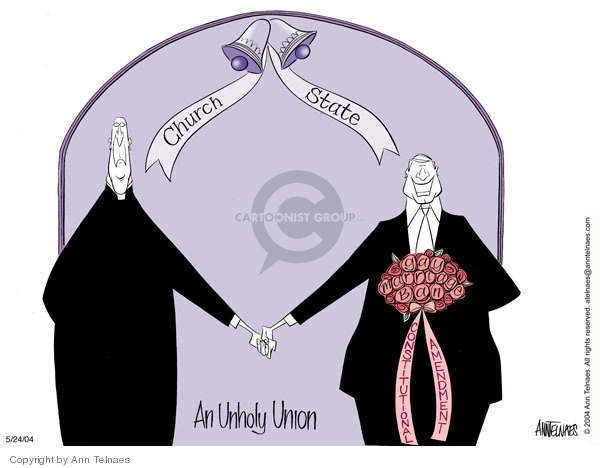 Ann Telnaes  Ann Telnaes' Editorial Cartoons 2004-05-24 union