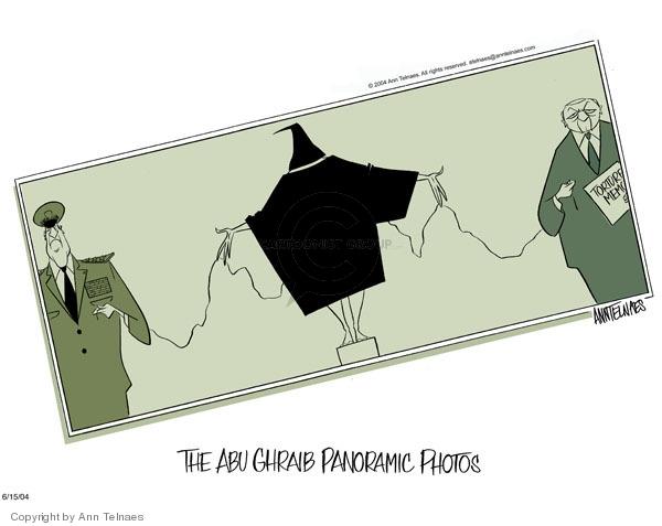 Ann Telnaes  Ann Telnaes' Editorial Cartoons 2004-06-15 Iraq human rights