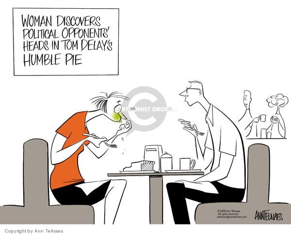 Ann Telnaes  Ann Telnaes' Editorial Cartoons 2005-05-09 corruption