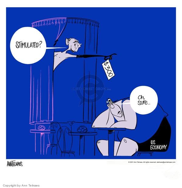 Ann Telnaes  Ann Telnaes' Editorial Cartoons 2001-09-06 dollar