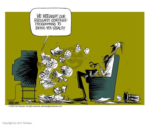 Ann Telnaes  Ann Telnaes' Editorial Cartoons 2001-09-13 9-11-01