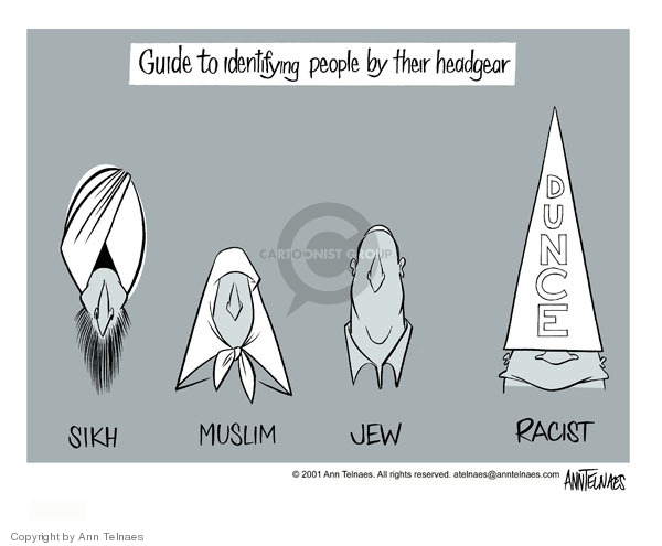 Ann Telnaes  Ann Telnaes' Editorial Cartoons 2001-09-26 Judaism