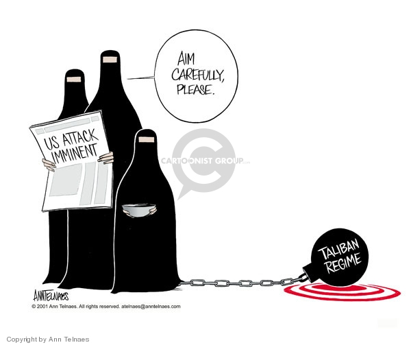 Ann Telnaes  Ann Telnaes' Editorial Cartoons 2001-10-02 terrorism