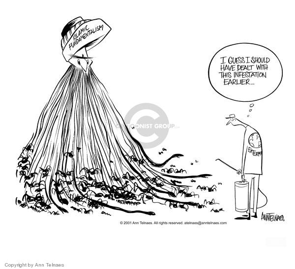 Ann Telnaes  Ann Telnaes' Editorial Cartoons 2001-10-09 9-11-01