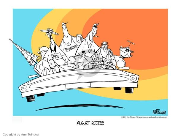 Ann Telnaes  Ann Telnaes' Editorial Cartoons 2001-08-03 Energy Industry