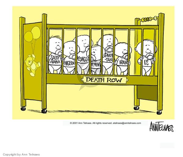 Ann Telnaes  Ann Telnaes' Editorial Cartoons 2001-08-16 danger