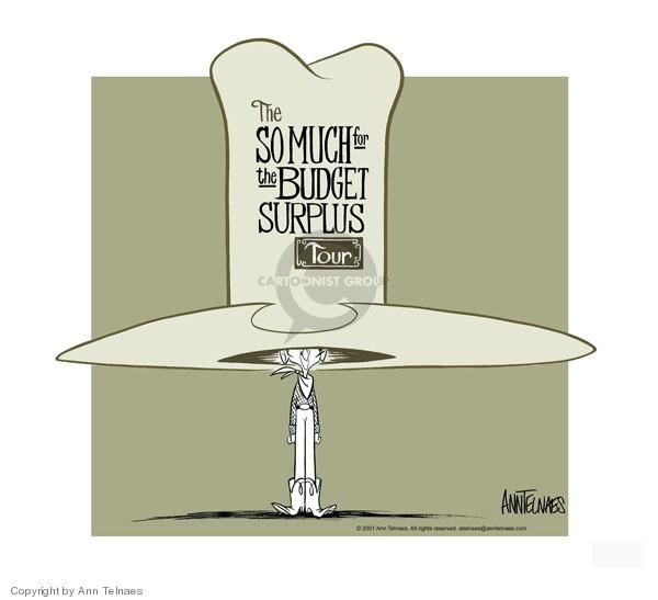 Ann Telnaes  Ann Telnaes' Editorial Cartoons 2001-08-20 debt