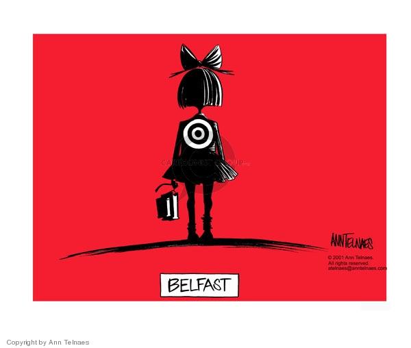 Cartoonist Ann Telnaes  Ann Telnaes' Editorial Cartoons 2001-09-05 holy