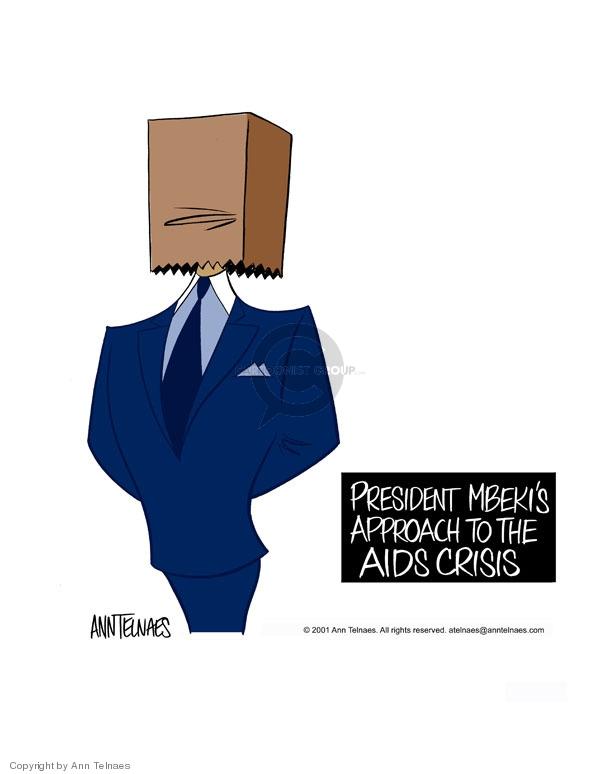 Ann Telnaes  Ann Telnaes' Editorial Cartoons 2001-06-27 Africa