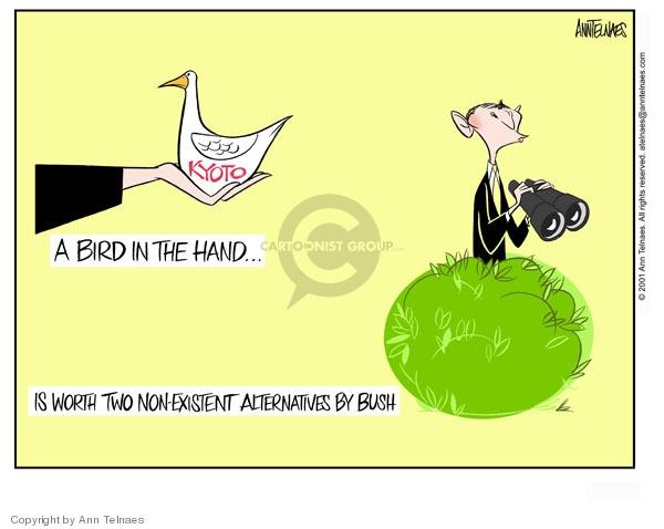 Ann Telnaes  Ann Telnaes' Editorial Cartoons 2001-07-22 international relations
