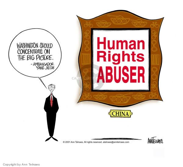 Ann Telnaes  Ann Telnaes' Editorial Cartoons 2001-07-26 detention