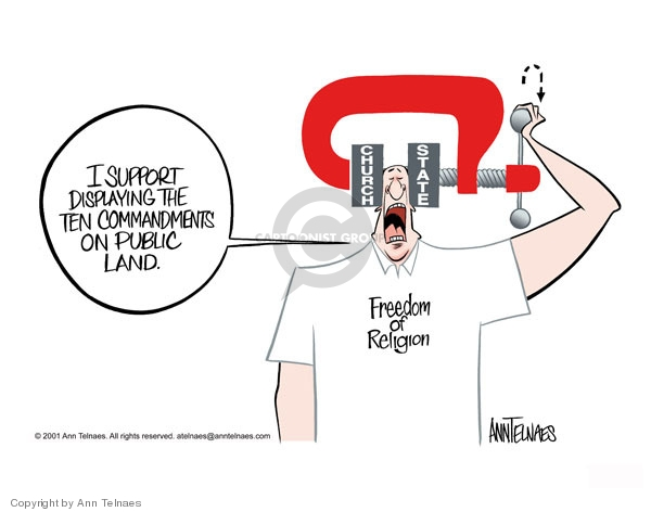 Ann Telnaes  Ann Telnaes' Editorial Cartoons 2001-06-05 amendment