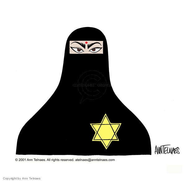 Ann Telnaes  Ann Telnaes' Editorial Cartoons 2001-05-22 Judaism