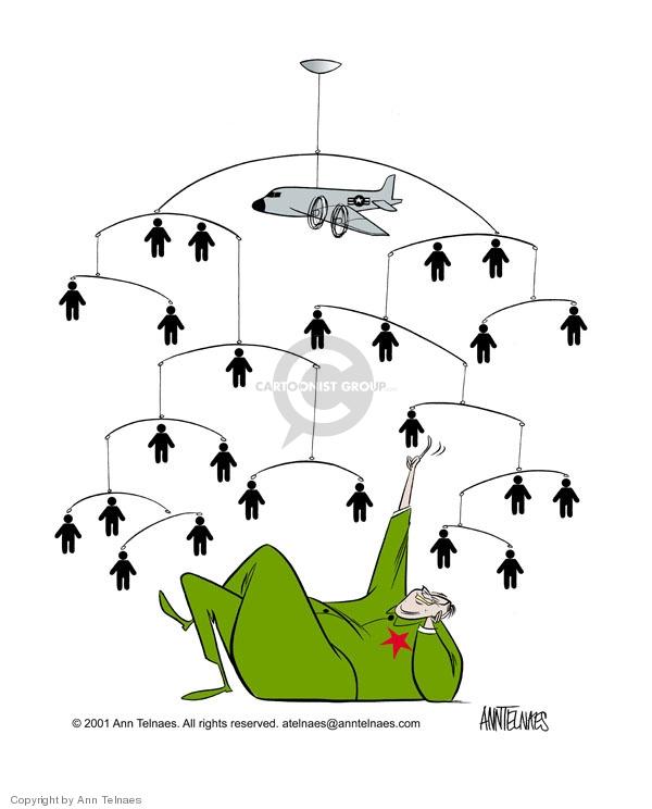 Ann Telnaes  Ann Telnaes' Editorial Cartoons 2001-04-03 international relations