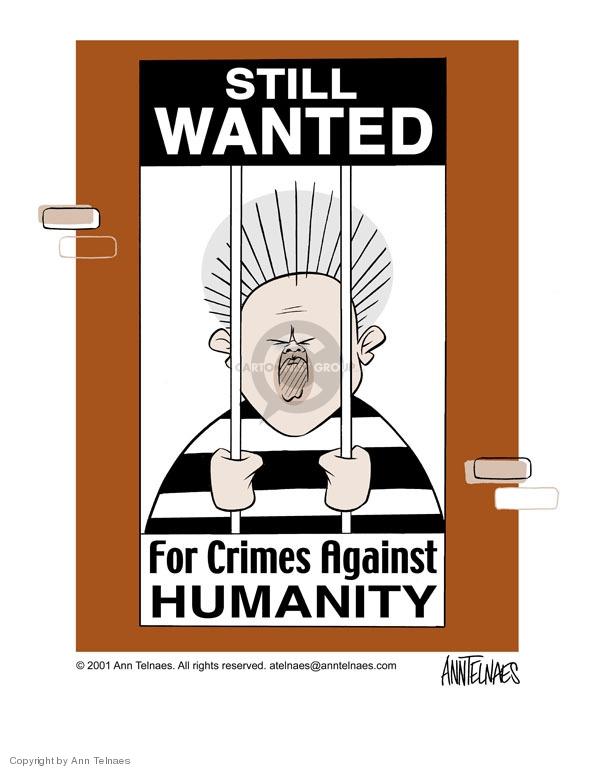 Ann Telnaes  Ann Telnaes' Editorial Cartoons 2001-04-05 jail