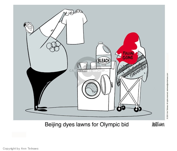 Ann Telnaes  Ann Telnaes' Editorial Cartoons 2001-02-16 summer Olympics