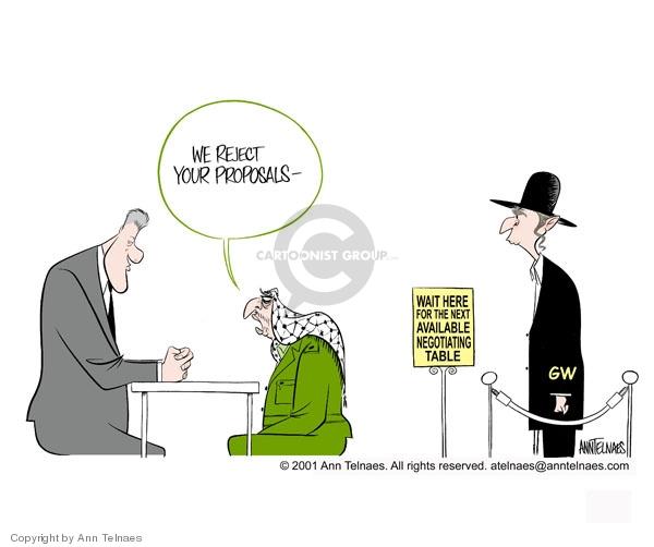 Ann Telnaes  Ann Telnaes' Editorial Cartoons 2001-01-08 reject