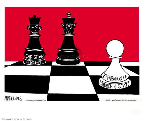 Ann Telnaes  Ann Telnaes' Editorial Cartoons 2001-01-12 black