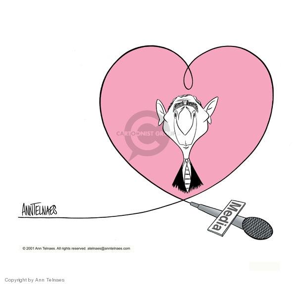 Ann Telnaes  Ann Telnaes' Editorial Cartoons 2001-02-05 around