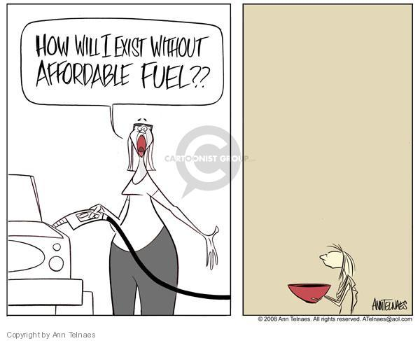 Ann Telnaes  Ann Telnaes' Editorial Cartoons 2008-04-17 gasoline