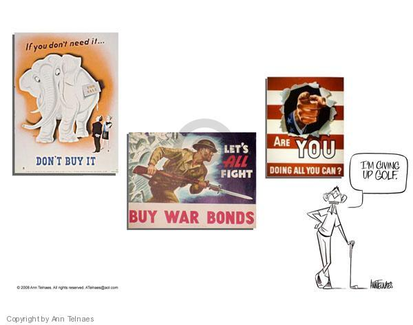 Ann Telnaes  Ann Telnaes' Editorial Cartoons 2008-05-14 two