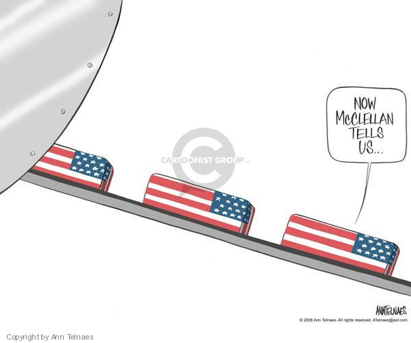 Ann Telnaes  Ann Telnaes' Editorial Cartoons 2008-05-28 dead