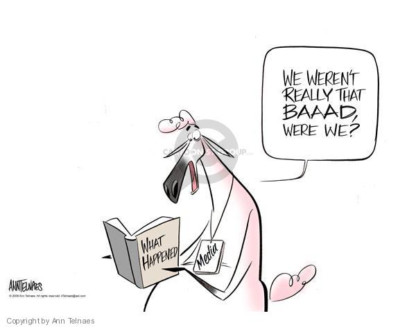 Ann Telnaes  Ann Telnaes' Editorial Cartoons 2008-05-29 bush