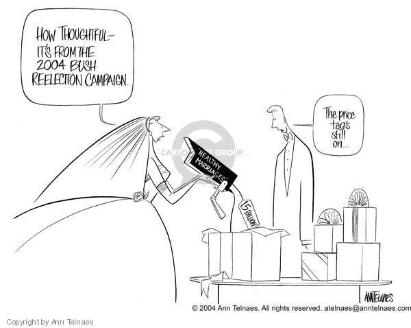Ann Telnaes  Ann Telnaes' Editorial Cartoons 2004-01-05 price