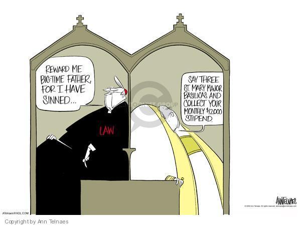 Ann Telnaes  Ann Telnaes' Editorial Cartoons 2004-05-31 $12