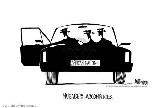 Ann Telnaes  Ann Telnaes' Editorial Cartoons 2002-03-14 Africa