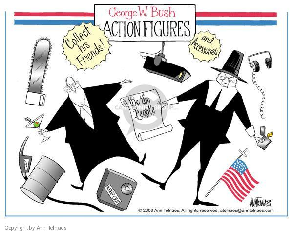 Ann Telnaes  Ann Telnaes' Editorial Cartoons 2003-08-20 nuclear