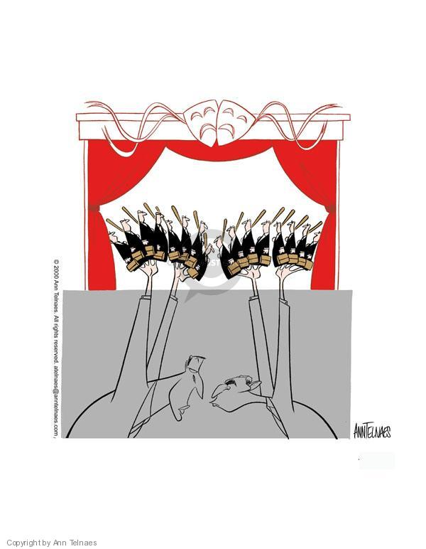 Ann Telnaes  Ann Telnaes' Editorial Cartoons 2000-11-19 state court