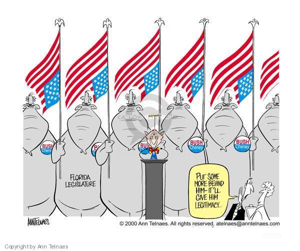 Ann Telnaes  Ann Telnaes' Editorial Cartoons 2000-12-01 vote