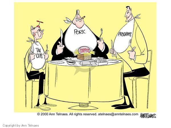 Cartoonist Ann Telnaes  Ann Telnaes' Editorial Cartoons 2000-10-19 Al Gore