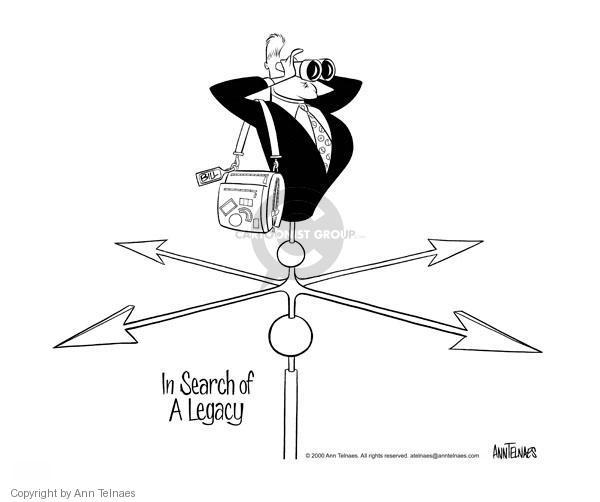 Cartoonist Ann Telnaes  Ann Telnaes' Editorial Cartoons 2000-06-08 directions