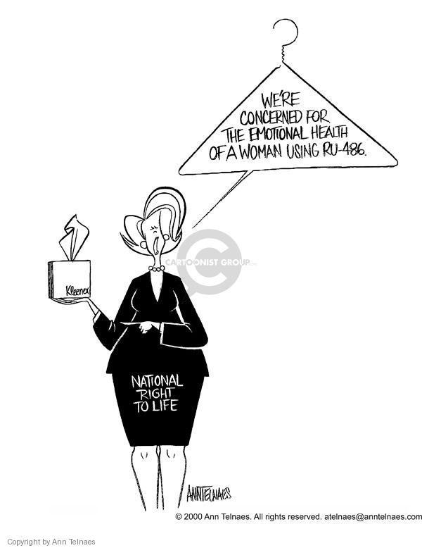 Ann Telnaes  Ann Telnaes' Editorial Cartoons 2000-09-29 pro-life