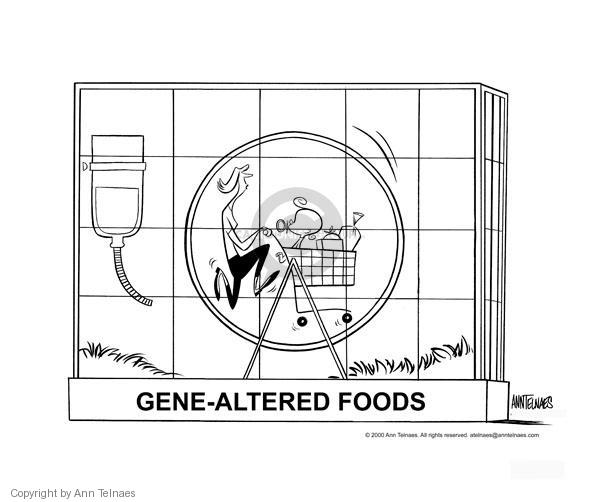 Ann Telnaes  Ann Telnaes' Editorial Cartoons 2000-05-04 food safety