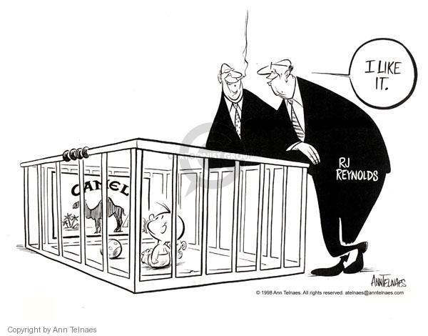 Ann Telnaes  Ann Telnaes' Editorial Cartoons 1998-01-16 marketing