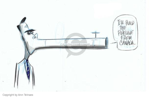 Cartoonist Ann Telnaes  Ann Telnaes' Editorial Cartoons 2012-10-21 oil