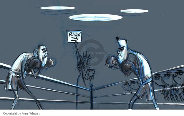 Ann Telnaes  Ann Telnaes' Editorial Cartoons 2012-11-06 2012 debate