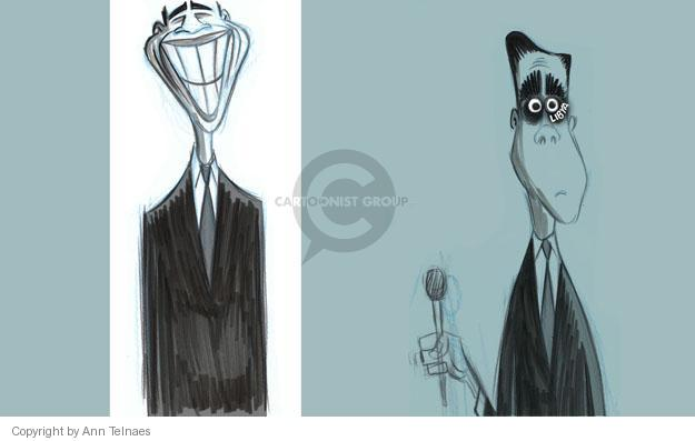 Ann Telnaes  Ann Telnaes' Editorial Cartoons 2012-11-02 2012 debate