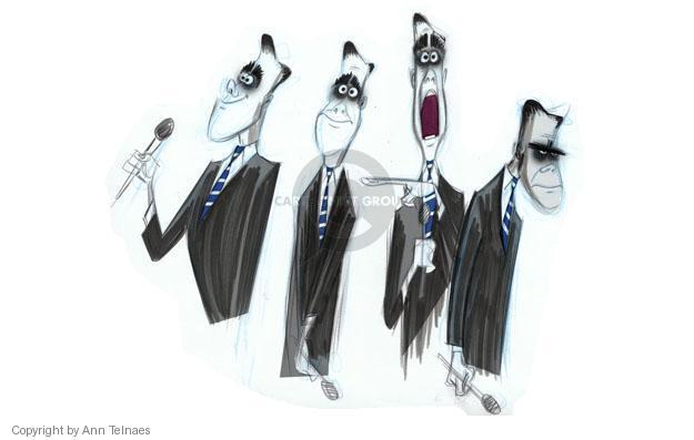 Ann Telnaes  Ann Telnaes' Editorial Cartoons 2012-11-05 2012 debate