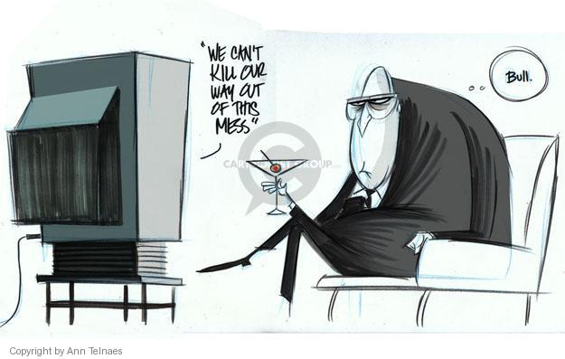Cartoonist Ann Telnaes  Ann Telnaes' Editorial Cartoons 2012-11-01 Bush Cheney
