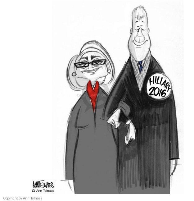 Cartoonist Ann Telnaes  Ann Telnaes' Editorial Cartoons 2013-02-21 Bill Clinton