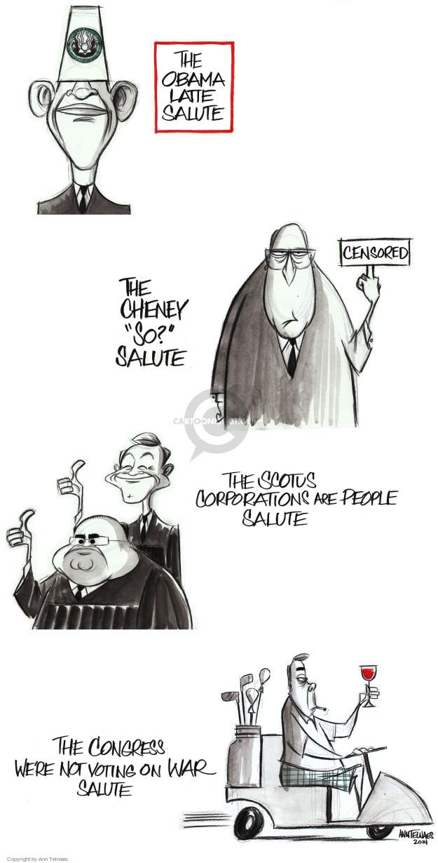Ann Telnaes  Ann Telnaes' Editorial Cartoons 2014-09-26 executive branch