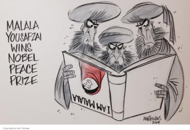 Cartoonist Ann Telnaes  Ann Telnaes' Editorial Cartoons 2014-10-10 book